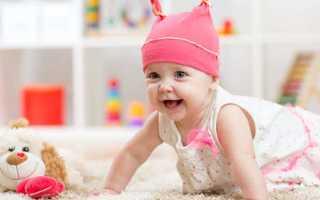 Ребенок на 8 месяце жизни