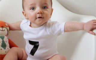 7 месяц жизни ребенка