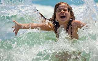 Адаптация детей на море