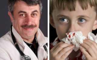 Почему у ребенка кровь из носа