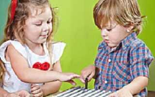 Развитие сенсорики у детей