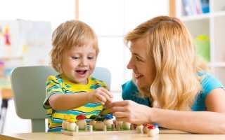 Этапы развития мышления у детей