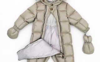 Какой комбинезон купить ребенку на зиму