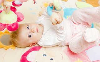 Ребенок 4 5 месяца развитие