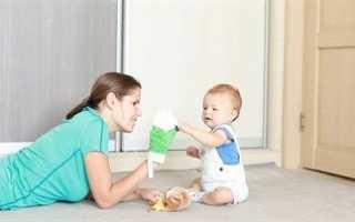 Занятия с ребенком в 9 месяцев