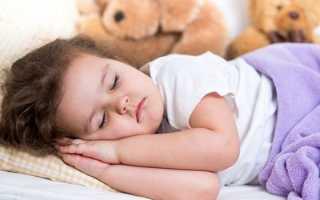 Сколько спит ребенок в 2 года