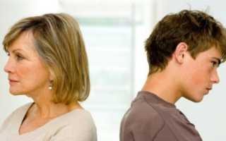 Почему сыновья плохо относятся к матери