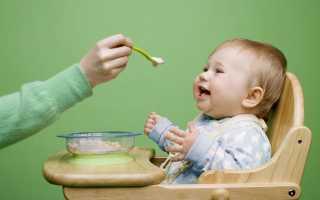 Сколько раз в день ребенок должен кушать