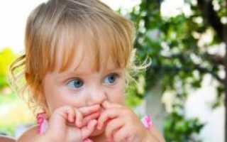 Почему ребенок есть из носа козявки