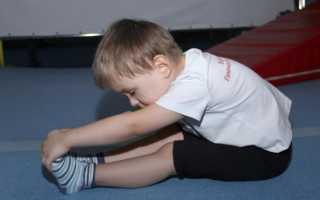 Развитие гибкости у детей
