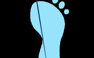 Какой размер ноги у ребенка в год