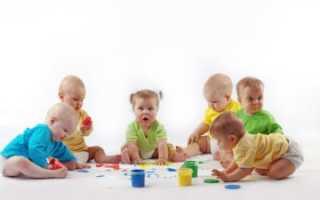 Чем занять 7 месячного ребенка