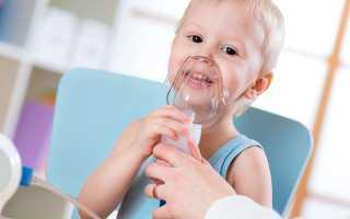 Можно ли ингаляции при сухом кашле ребенку