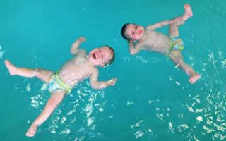Можно ли ребенку ходить в бассейн