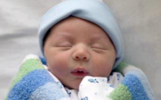 1 неделя ребенку
