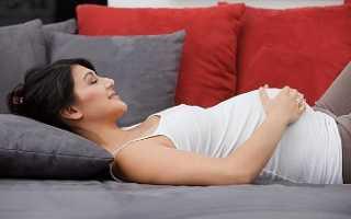 20 недель беременности сколько спит малыш